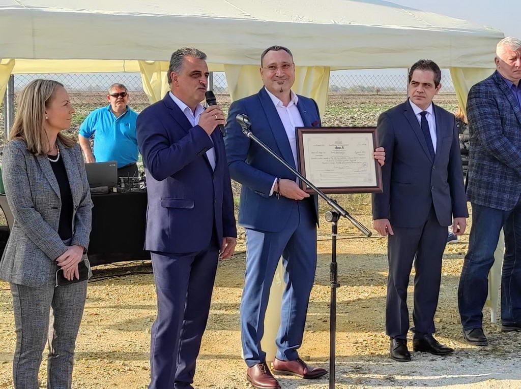 В Тракия икономическа зона строят най-големия на Балканите завод за алуминиеви профили за 40 млн. лв.