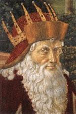 Патриарх Йосиф ІІ (фрагмент от стенописа)