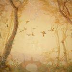 Ясен Иванчев, детайли от стенописи