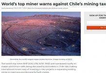 Мина Escondida (най-голямата медна мина в света)
