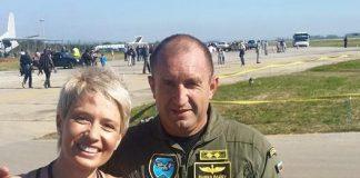 Цвета Кирилова (Азбукари) и Румен Радев